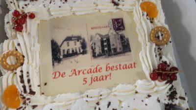 taart Arcade bestaat 5 jaar