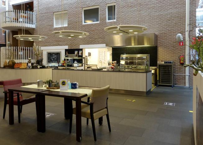 Brasserie van zorglocatie Elim in Putten.