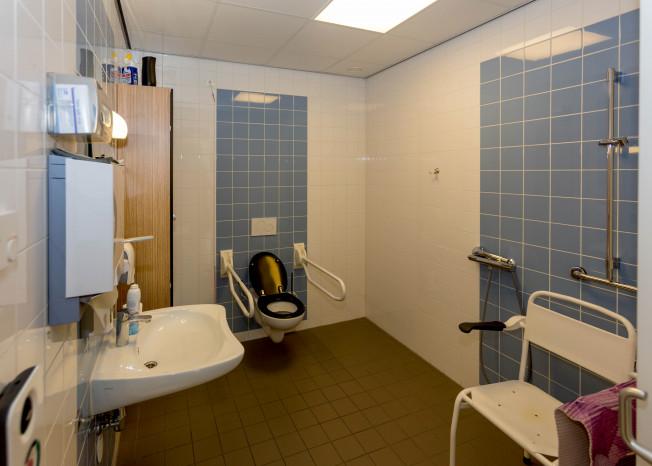 Zorggroep Noordwest-Veluwe, zorglocatie Schauw Putten, badkamer