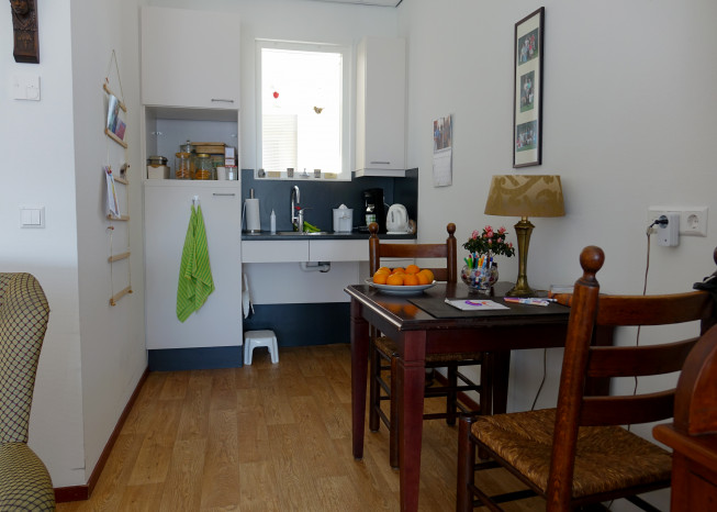 Zorggroep Noordwest-Veluwe, zorglocatie Schauw Putten, keuken van bewoner