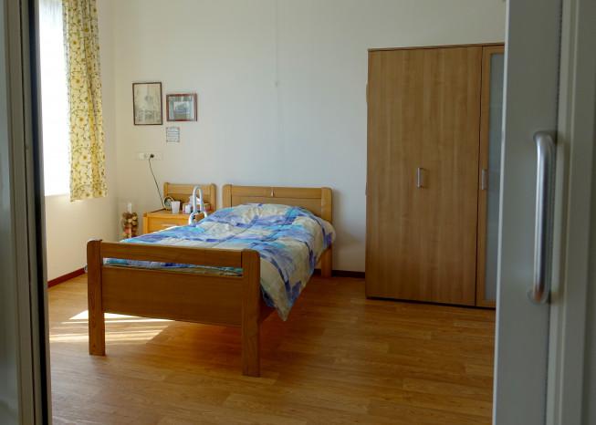 Zorggroep Noordwest-Veluwe, zorglocatie Schauw Putten, slaapkamer van bewoner