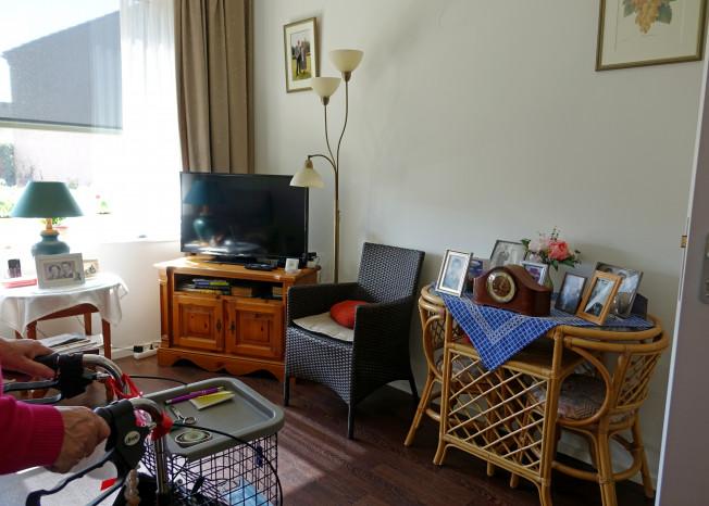 Zorggroep Noordwest-Veluwe, zorglocatie Schauw Putten, bewoner in kamer