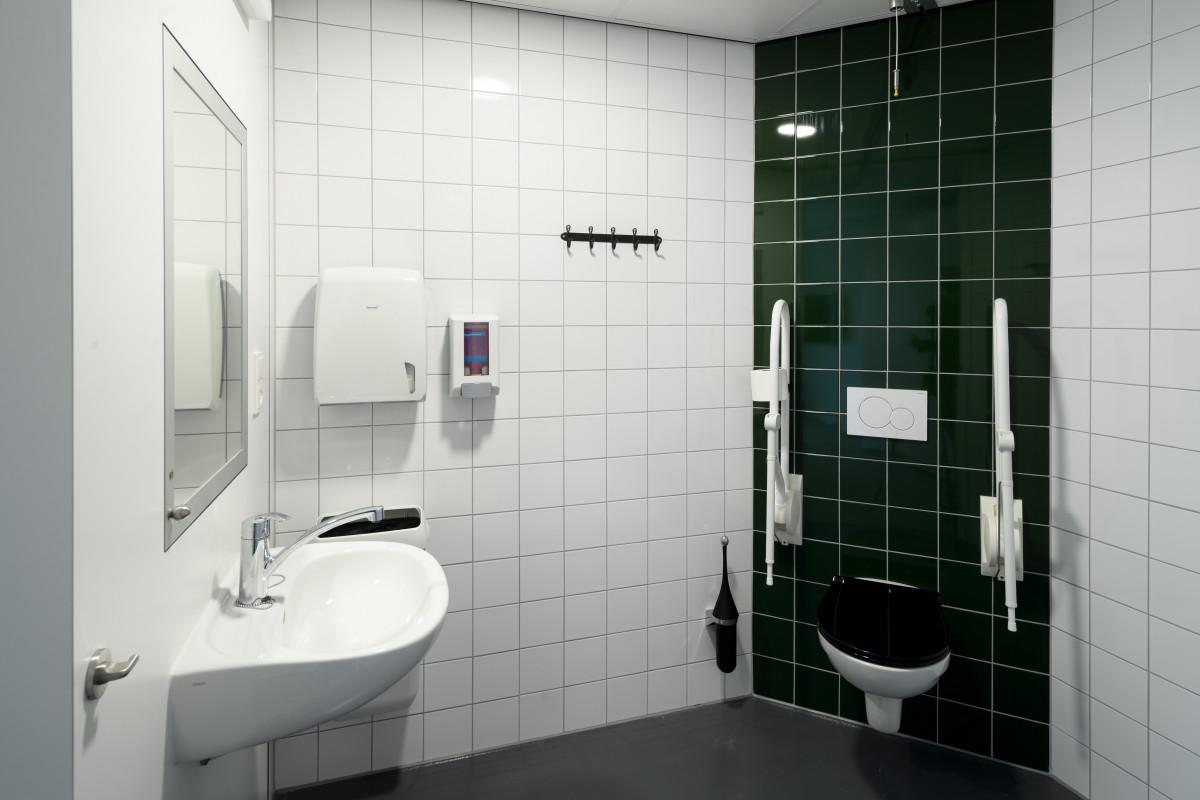 Een badkamer in Villa Verde